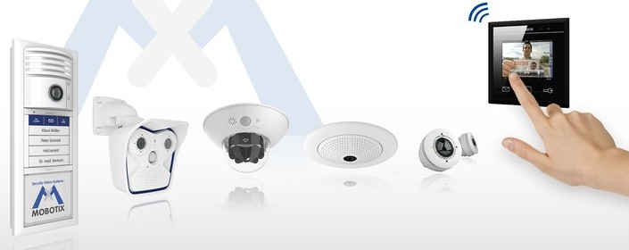 Mobotix IP cameras and door stations, and home automation